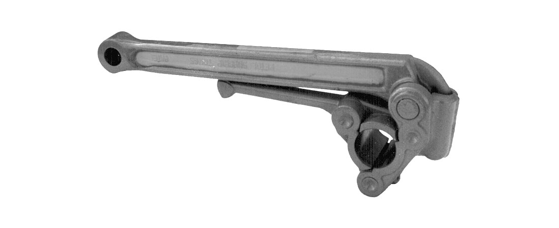 Hydraulic surgrip friction tongs.